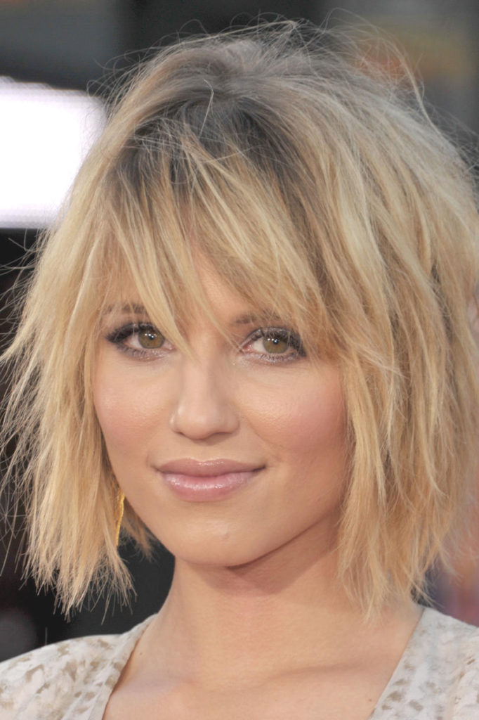 Medium Shag Haircuts trends 2020 Light blonde Hair color