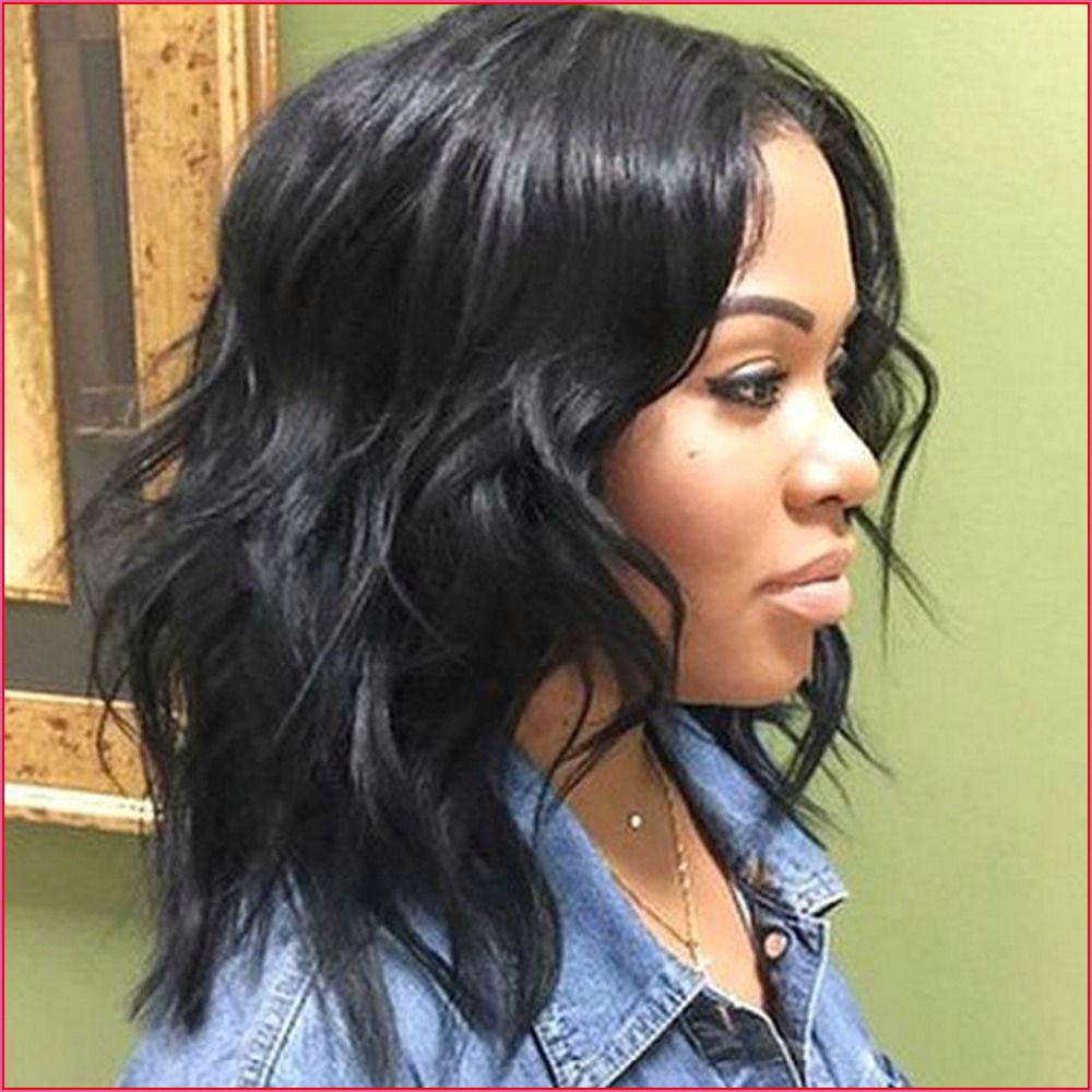 Medium Shag Haircuts trends 2020 black color