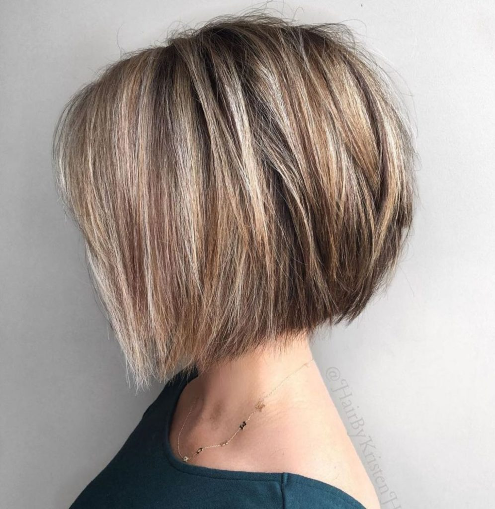 Short Highlights Hairstyles trends 2020 ash blonde 5