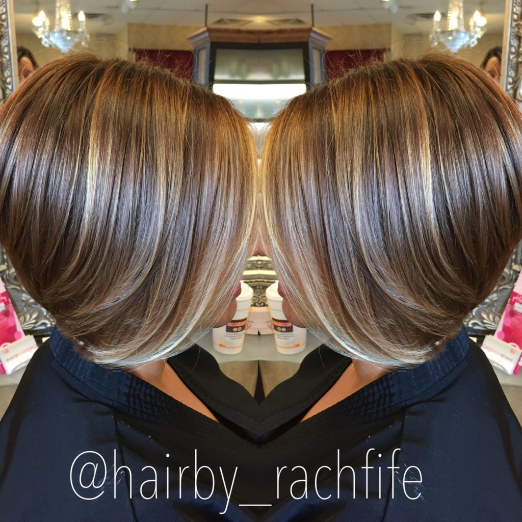 Short Highlights Hairstyles trends 2020 gradient blonde hair color