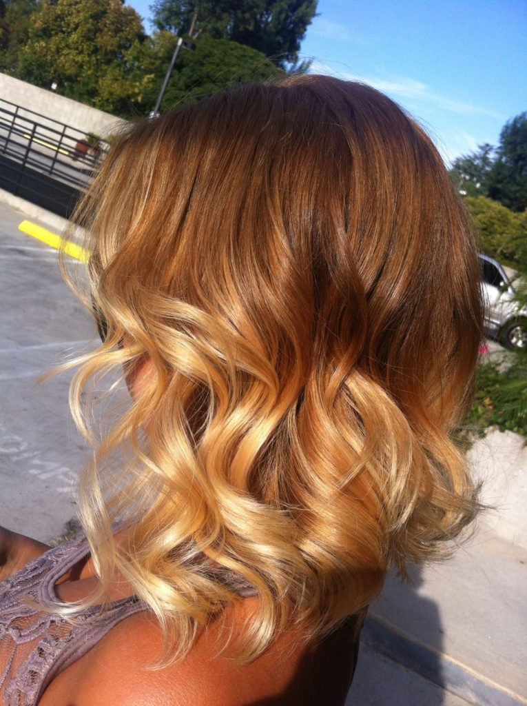 Short Ombre Hairstyles trends 2020 Blonde