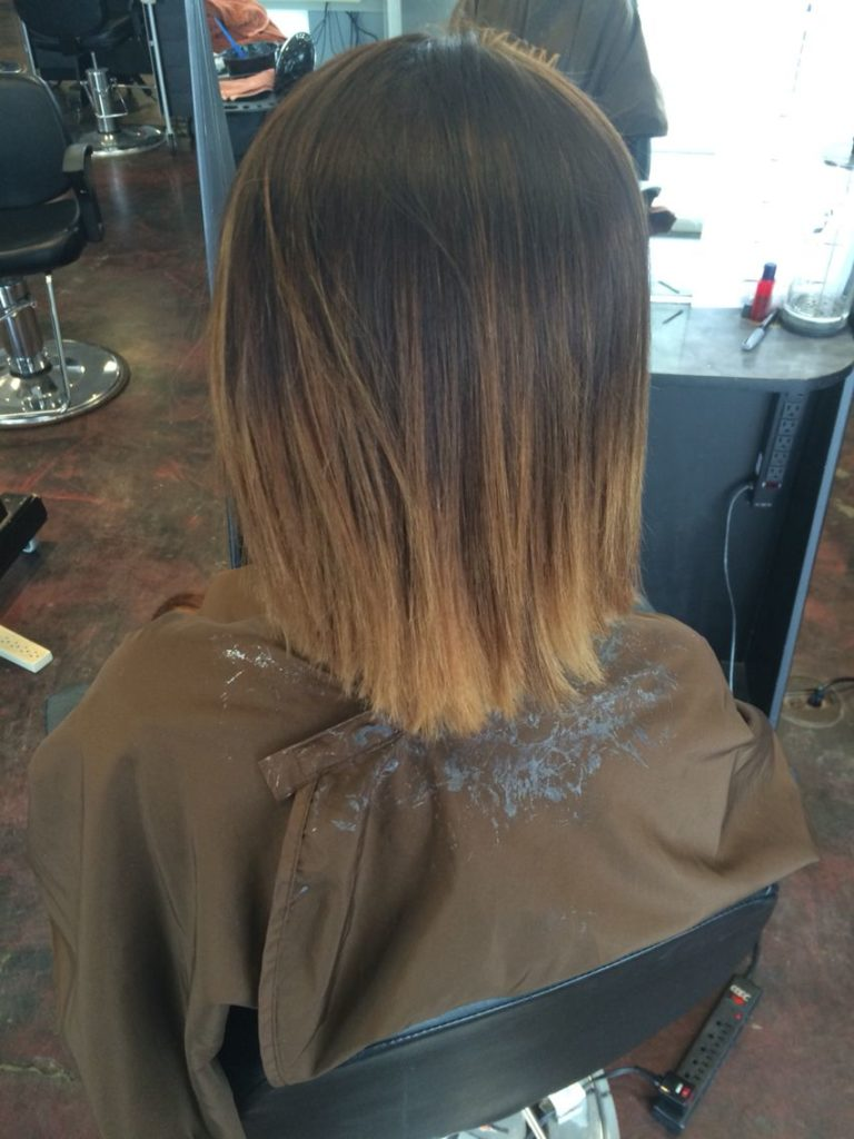Short Ombre Hairstyles trends 2020 Blonde highlights