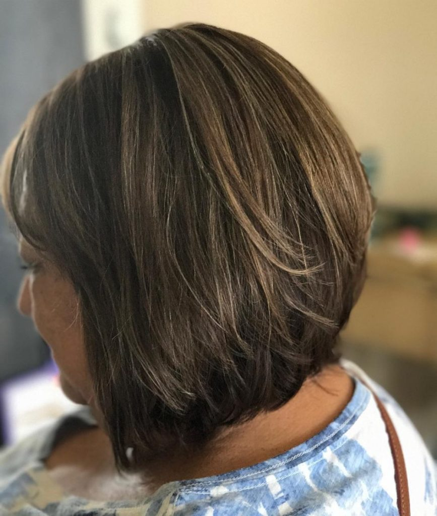 Short Ombre Hairstyles trends 2020 Brown Caramel Ombre