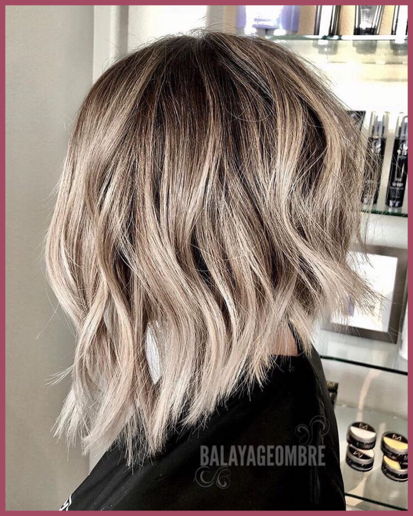 Short Ombre Hairstyles trends 2020 Gray ombré color