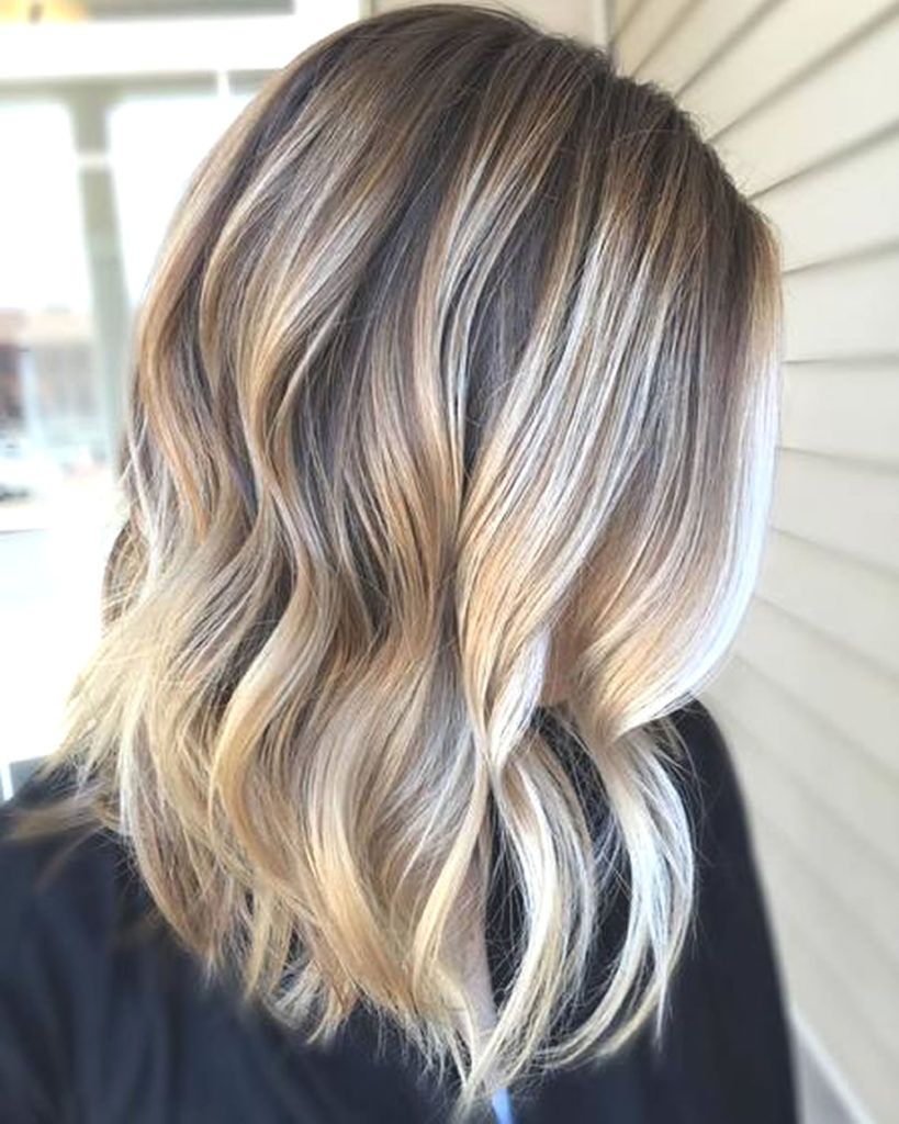 Short Ombre Hairstyles trends 2020 blonde highlights 2