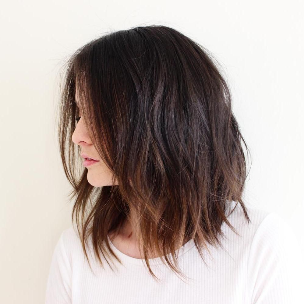 Short Ombre Hairstyles trends 2020 brown ombré highlights