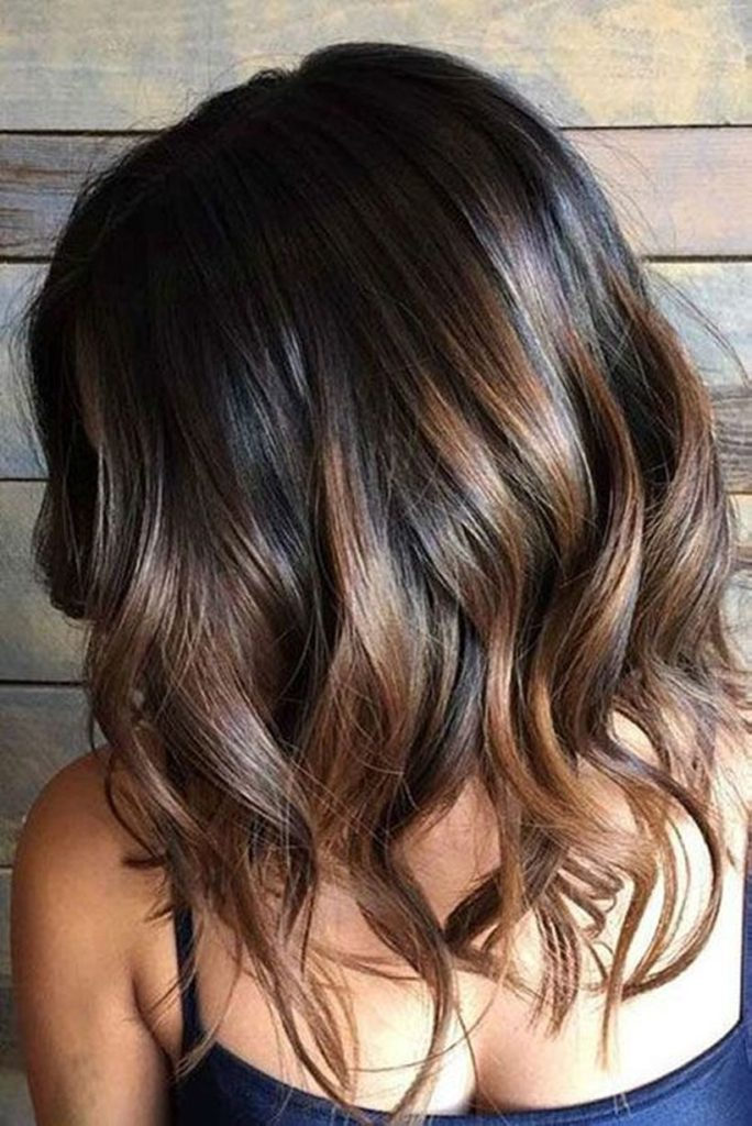Short Ombre Hairstyles trends 2020 brown to blonde