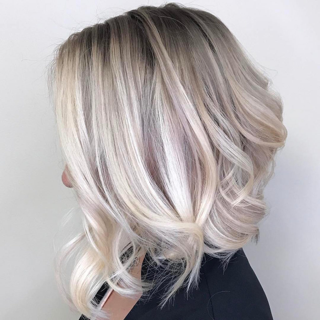 Short Ombre Hairstyles trends 2020 gray colors