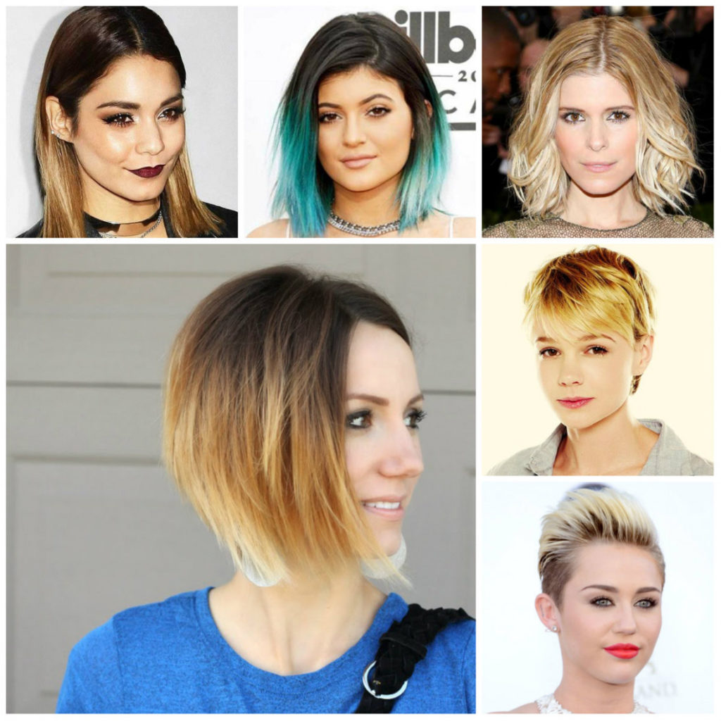 Short Ombre Hairstyles trends 2020 ombré colors highlights