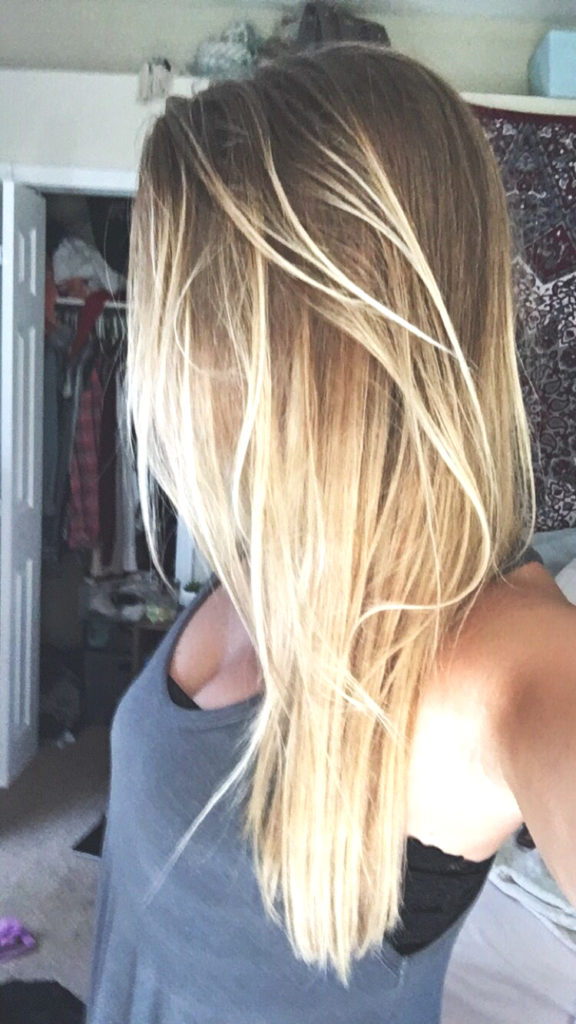 Short Ombre Hairstyles trends 2020 platinum blonde