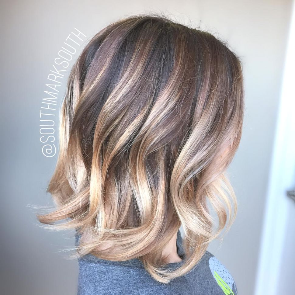 Short Ombre Hairstyles trends 2020 platinum blonde shades