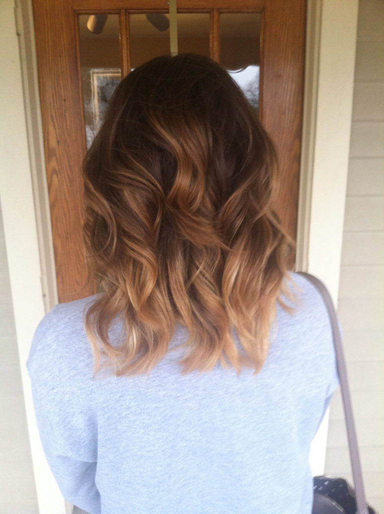 Short Ombre Hairstyles trends 2020 subtle blonde shades color