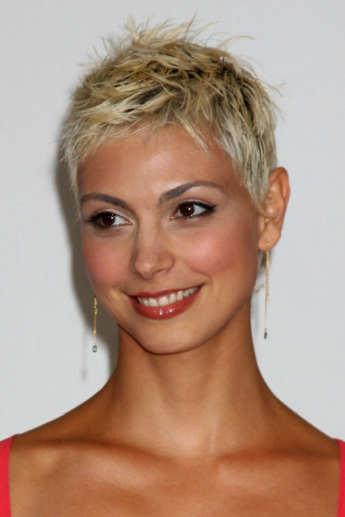 Short Pixie Haircuts trends 2020 Bright golden blonde