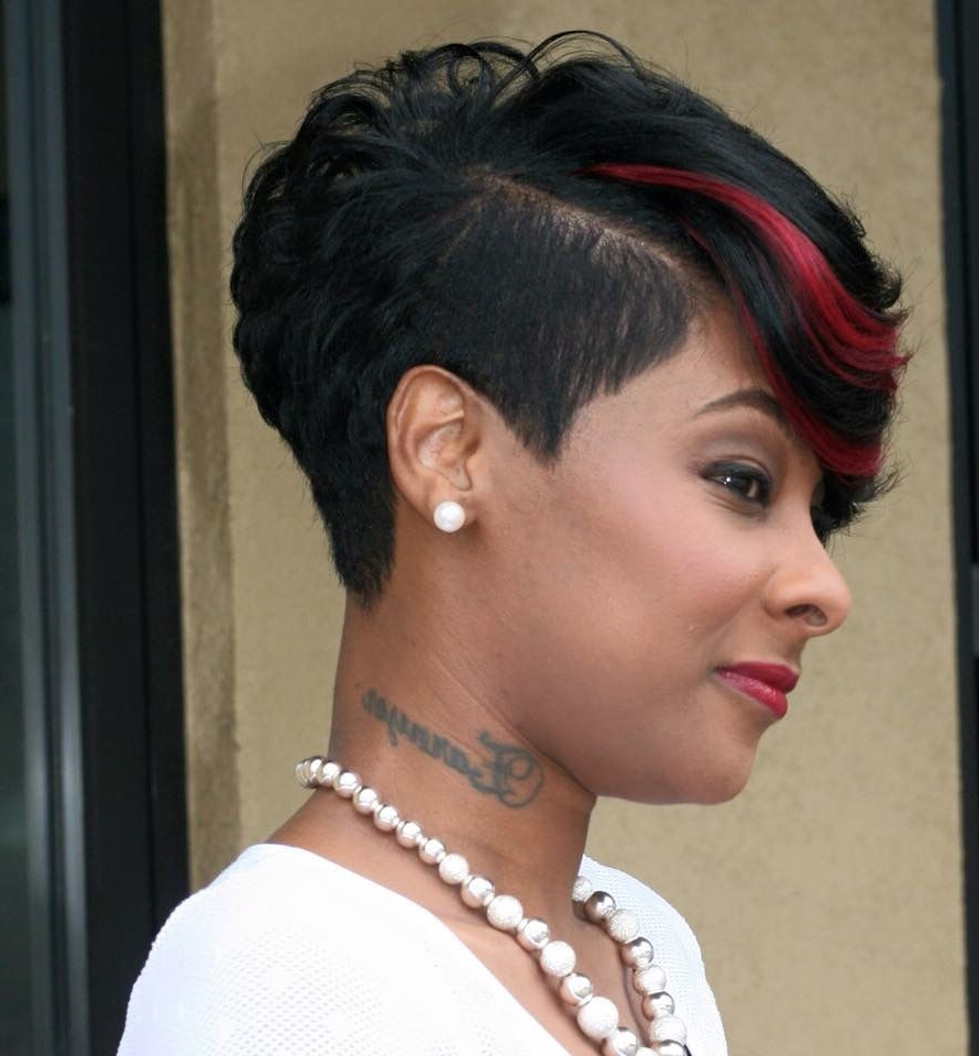 Short Pixie Haircuts trends 2020 Ruby fusion highlight