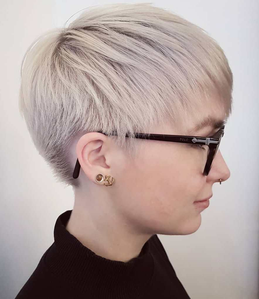Short Pixie Haircuts trends 2020 Soft blonde