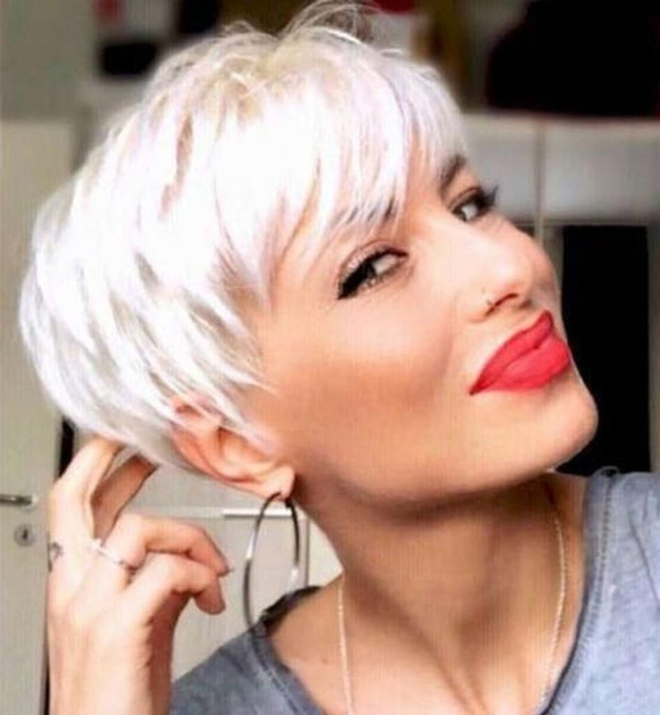 Short Pixie Haircuts trends 2020 baby blonde