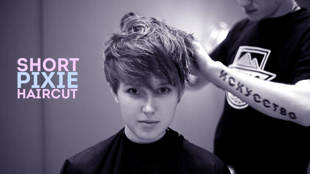 Short Pixie Haircuts trends 2020 bangs