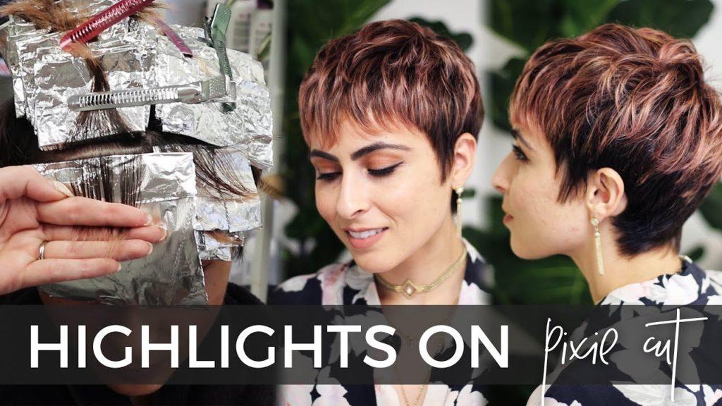 Short Pixie Haircuts trends 2020 light aubum