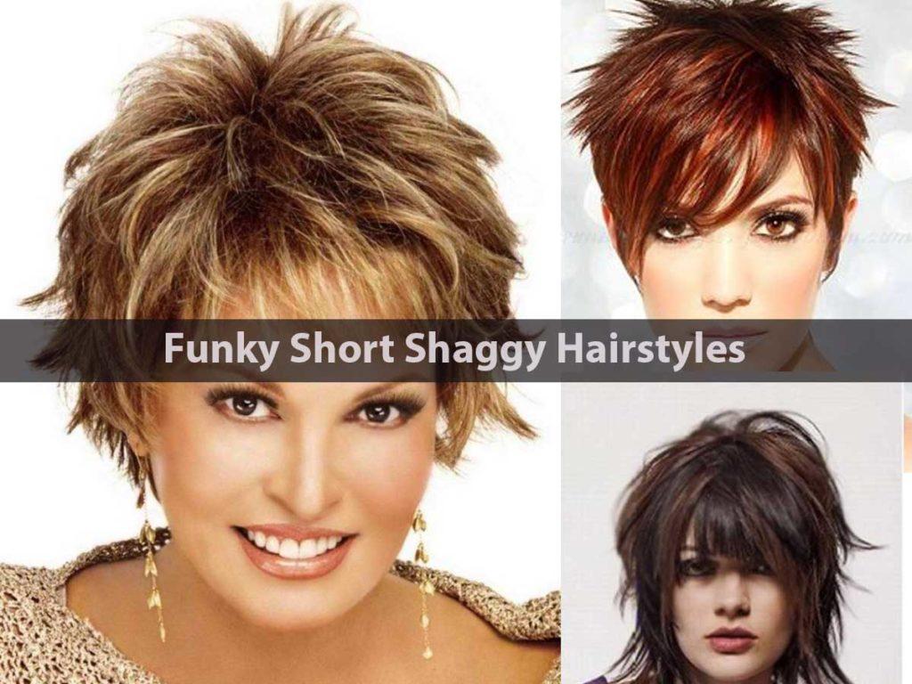 Short Shag Haircuts trends 2020 textured choppy layers