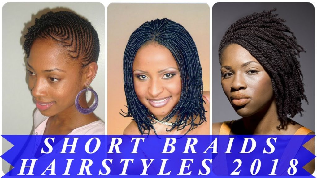 Short braided hairstyles trends 2020 Tree braid 1