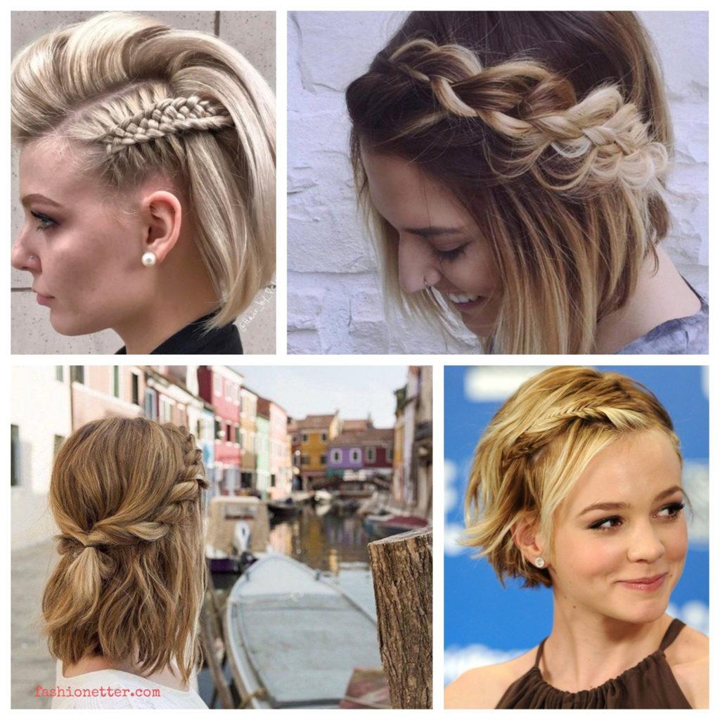 Short braided hairstyles trends 2020 mermaid baids 1