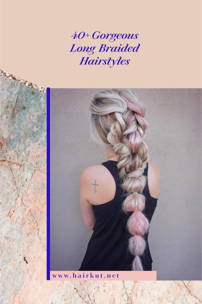 braided long hair 1