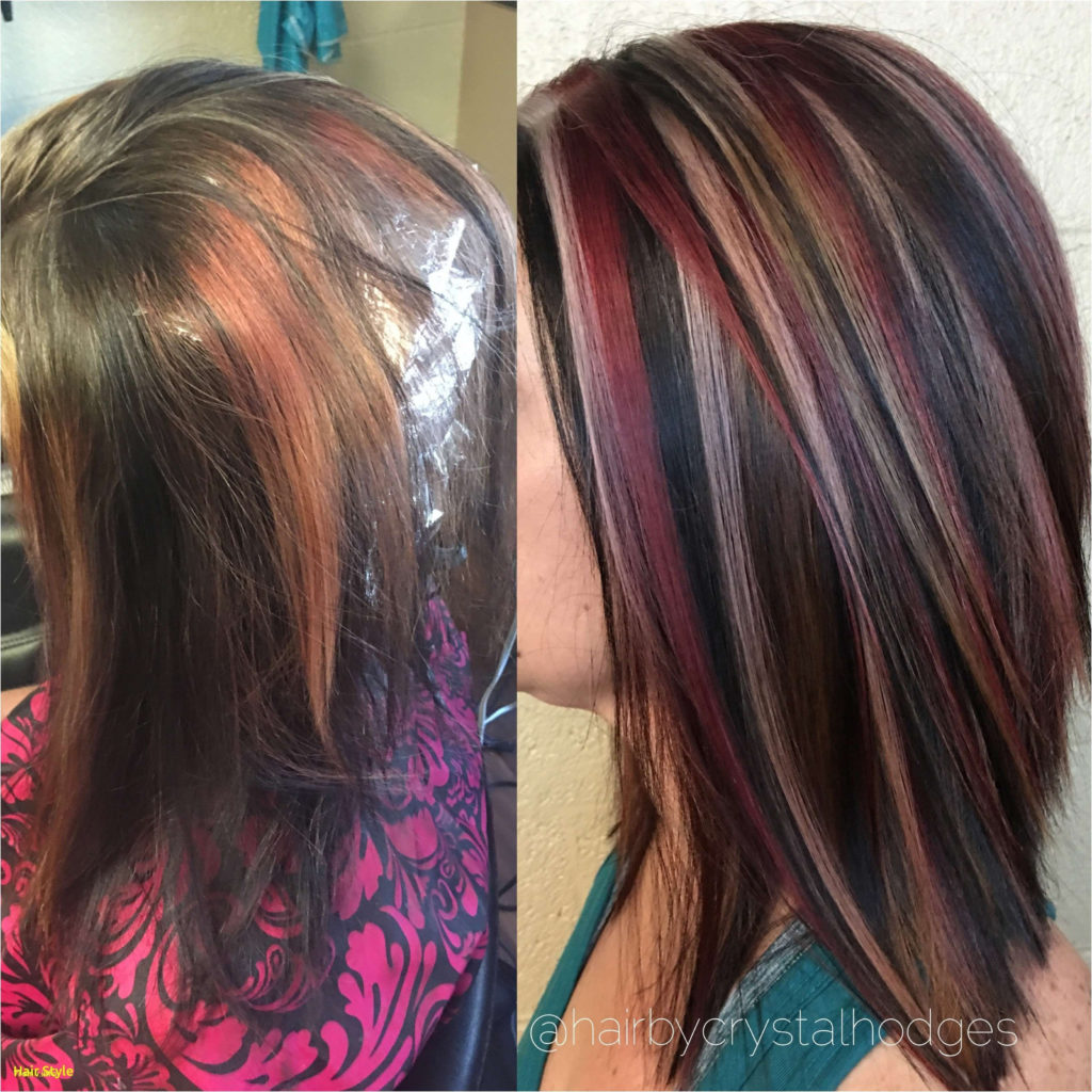 medium Highlights Hairstyles trends 2020 red ash blonde dye
