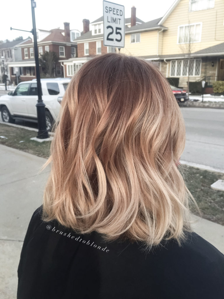medium Ombre Hairstyles trends 2020 soft blonde colors