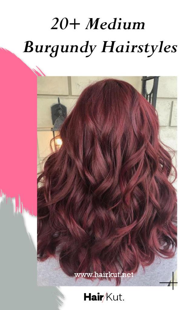 20 Medium Burgundy Hairstyles PINTEREST