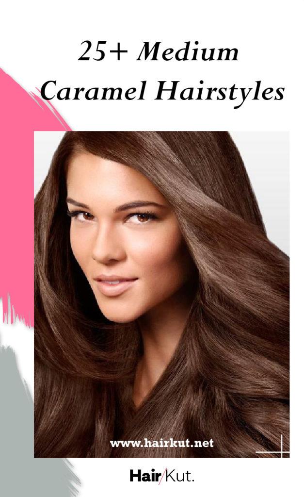 25medium hairstyles caramel PINTEREST