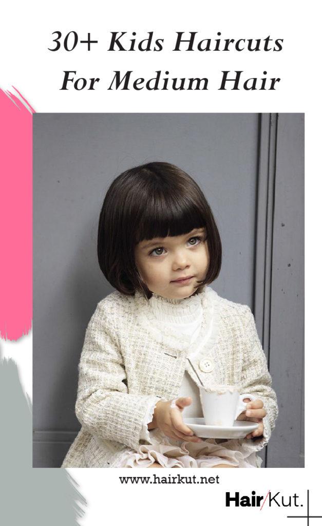 30 Kids Haircuts For Medium Hair Pinterest