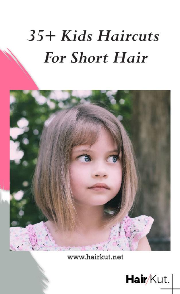 30 Kids Haircuts For Short Hair Pinterest