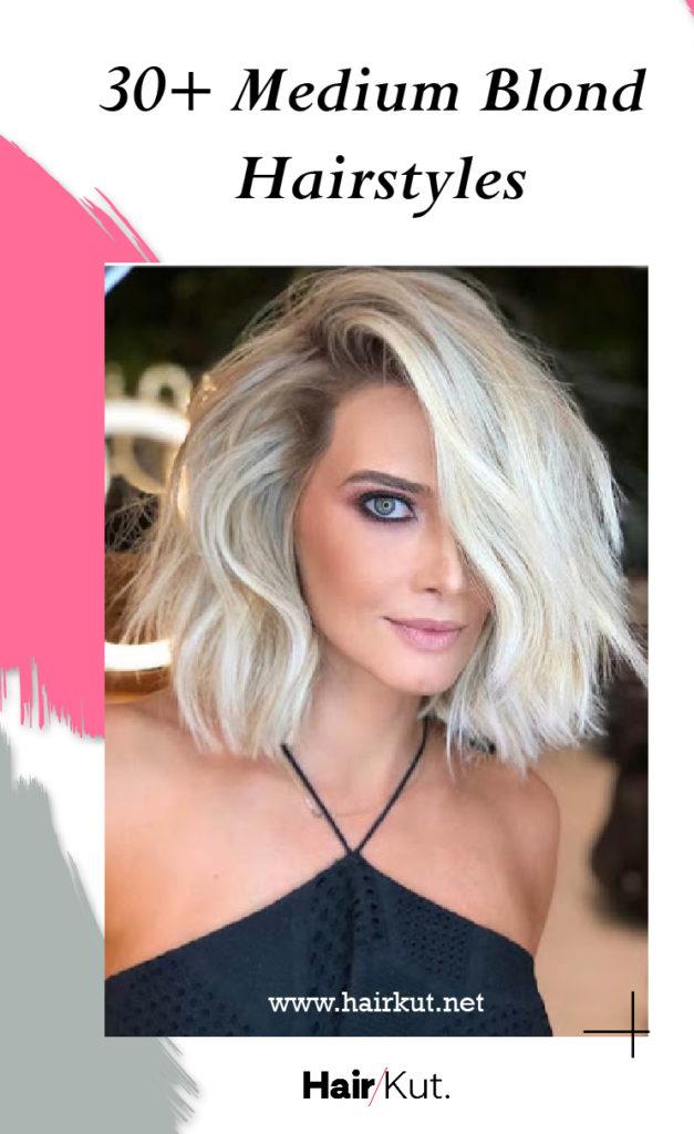 30 medium blond hairstyles PINTEREST