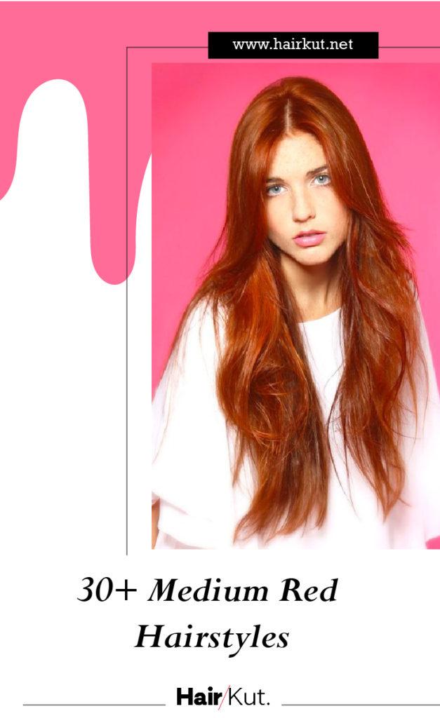 30 medium red hairstyles PINTEREST