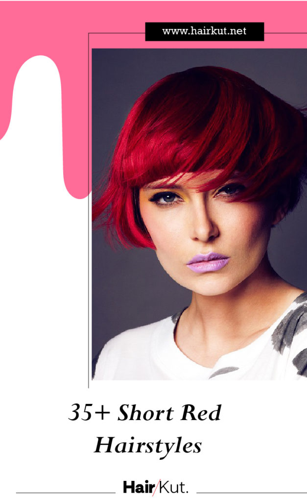 35 Short Red Hairstyles PINTEREST
