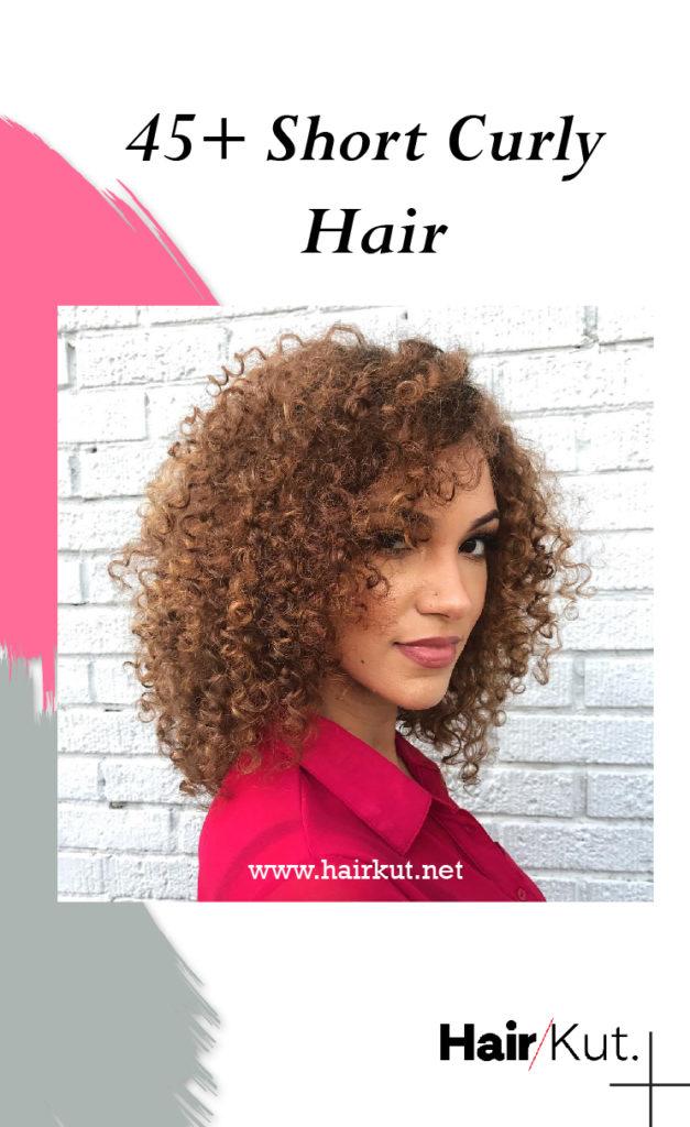 45 Short Curly Hair pinterest