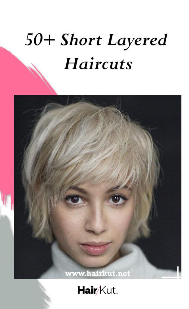 50 short layered haircuts PINTEREST