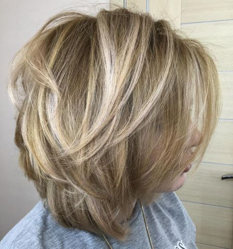 Bobbed Volume with Highlights