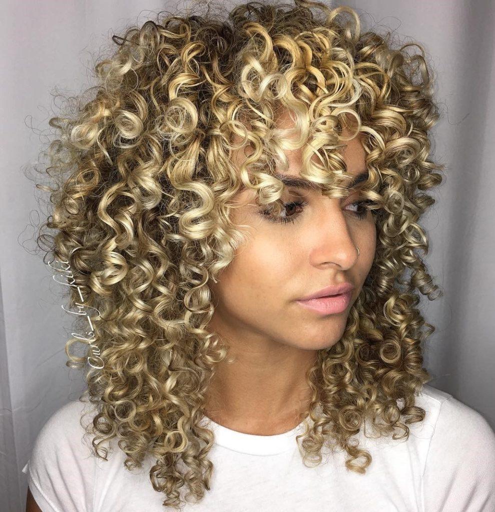 Bold Blonde Curls