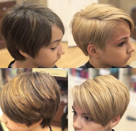 Boycut Hairstyle For Girls