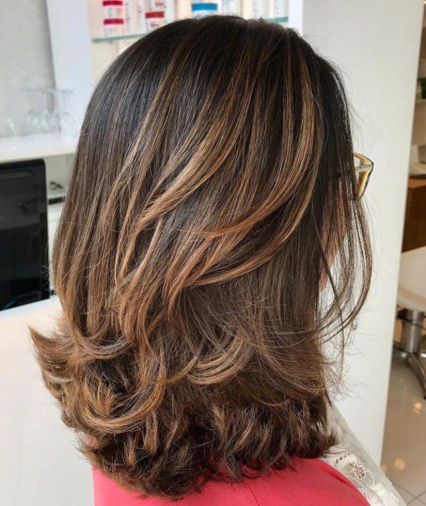 Brightest Medium Layered Haircuts To Light