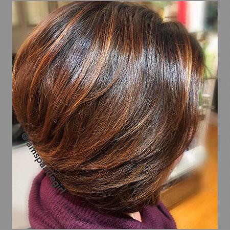 Brown Bob Hairstyle