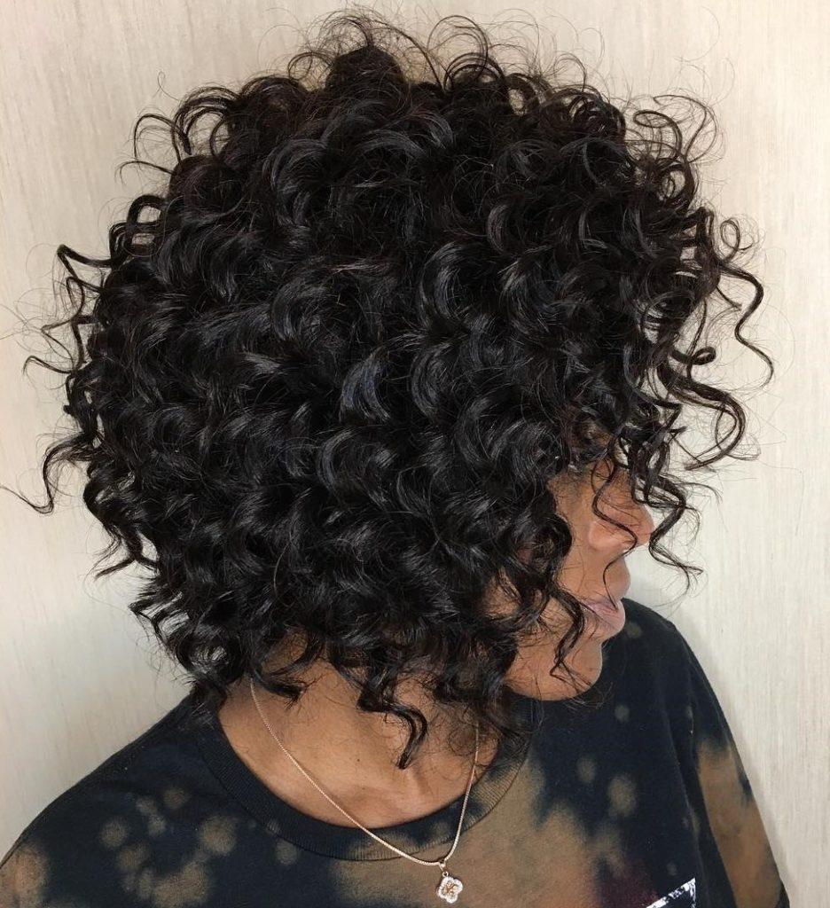 Brunette Natural Curls