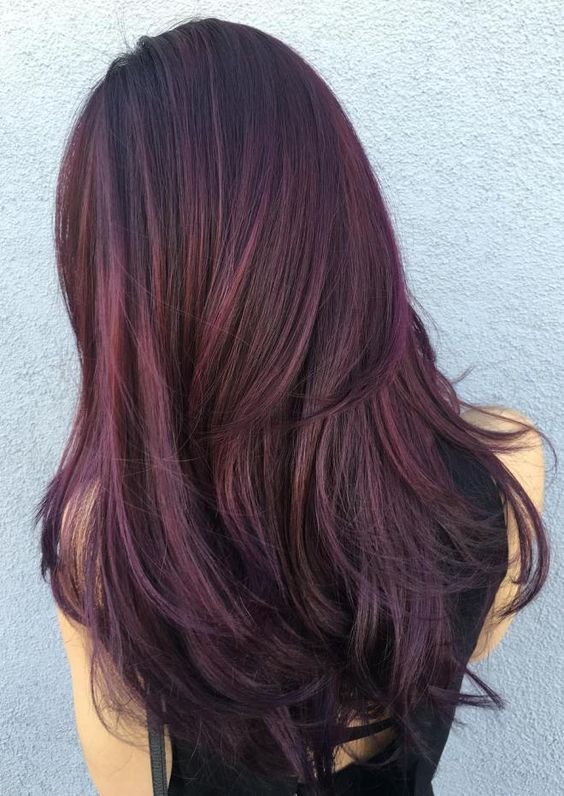 Burgundy Hairstyles and Haircuts