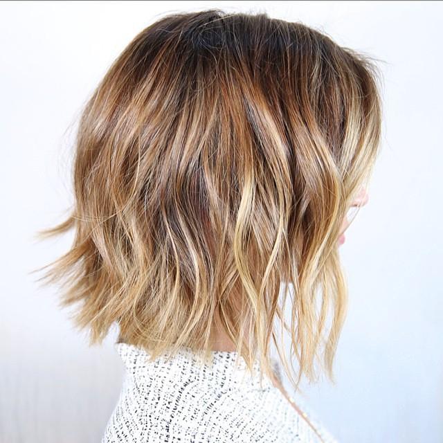 Caramel Brown Medium Curls