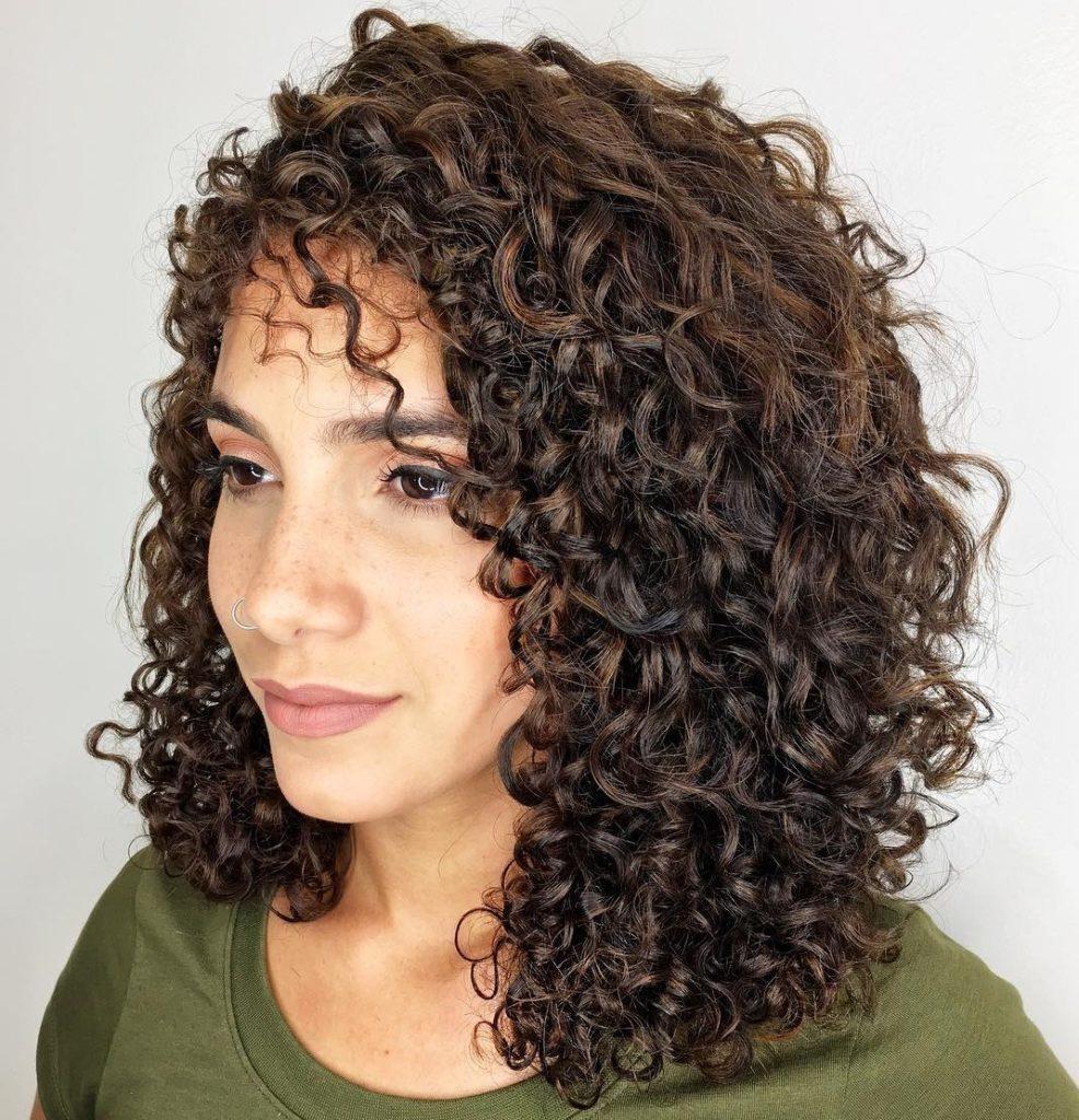 Chocolate Spiral Curls