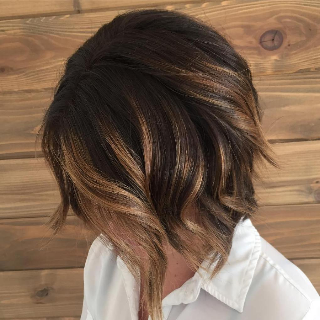 Chocolate and Blonde on Short Hair
