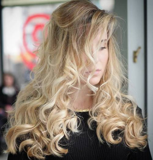 Coiled Champagne Blonde
