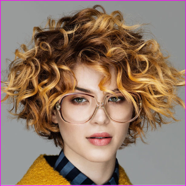 Cute Easy Hairstyles For Short Curly Hair 1