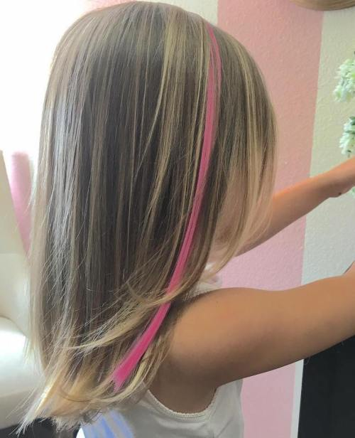 Cute Pink Strip of Color
